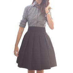 10 Crosby Derek Lam shirt. Ann Mashburn skirt.
