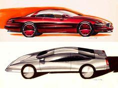 Design Sketch Gallery by GM designer Gray Counts