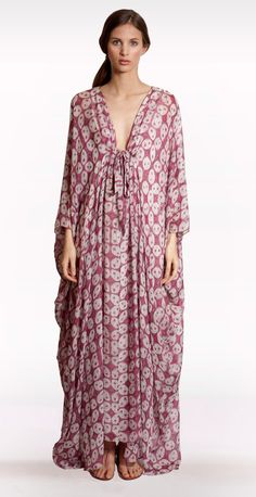 Kyoto Kaftan (£450.00) by @Allegra Hicks Lifestyle (www.allegrahicks.com)