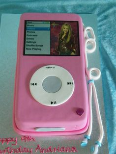 iPod Cake.  this would be simple for anyone to make!