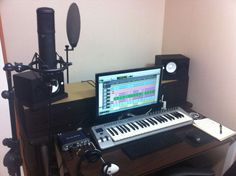 Images For > Mini Home Recording Studio Setup