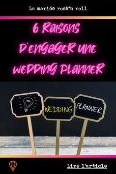 Vous vous demander si faire appel à une wedding planner pour organiser votre mariage serait une bonne idée ? Vous voulez connaître les avantages pour vous d'engager une organisatrice de mariage ? Je vous donne dans cet article les 6 bonnes raisons de vous faire accompagner par une professionnelle pour gérer l'organisation de votre mariage Organiser, Wedding Planners, C'est Bon, Marie, Blogging, I Want You, Organization, Wedding Planer