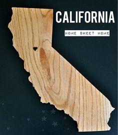 California State Cutting Board.