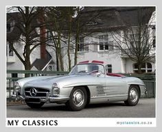 Classic Car For Sale: 1957 Mercedes-Benz 300SL Roadster ($750,000)    If you're gonna wish, wish big!