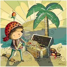 All Artwork Copyright Rachelle Anne Miller Creative Studios. Pirate Illustration, Character Illustration, Book Illustration, Decoration Pirate, Pirate Treasure, Pirate Life, Pirate Party, Creative Studio, Belle Photo