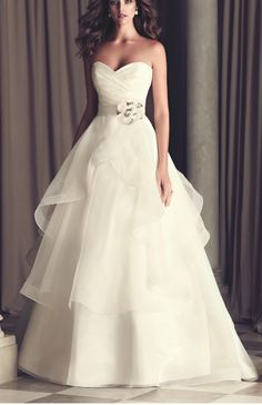 Klienfield dress. I love the tulle layers