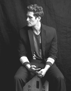 Matthew Morrison uses body lotion to keep his hair smooth. Do you have any curly hair tips? | Curly Hair Ideas For Guys