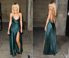 """Rihanna// inspired by Michelle Pfeiffer in """"Scarface."""""""