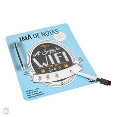 IMA DE NOTAS - SENHA DO WIFI -
