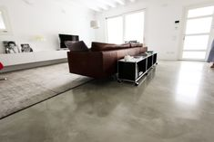 pavimento in resina per interni