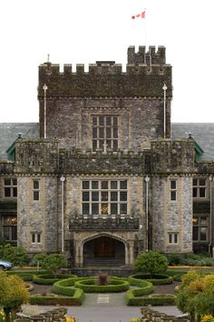 Hatley Castle, Victoria, BC, Canada.  Set location for XMen movies, TV shows including Smallville & Arrow