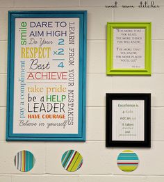 Continuing with the education theme, I created this fun  subway art for my sister's 5th grade classroom. This design was inspired  by ...