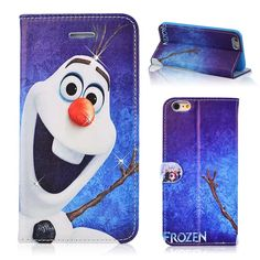 cute olaf   Details about Cute Disney Frozen Snowman Olaf Leather Wallet Case ...