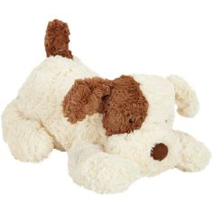 Jellycat Tumblie Biscuit Puppy Plush Toy ❤ liked on Polyvore featuring toys, baby, kids and stuffed animals