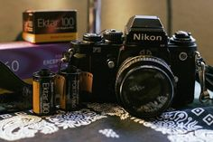 Nikon & + 3 rolls of film = A good day!