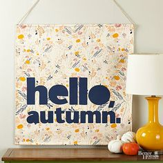 Super Easy Fall Projects