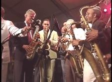 President Bill Clinton on the saxophone at the White House celebration of the Newport Jazz Festival. June From the Clinton Library. Newport Jazz Festival, Saxophone, Presidents, Celebration, June, Concert, Saxophones, Concerts