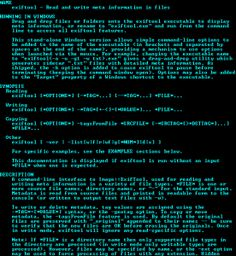 ExifTool is a platform-independent Perl library plus a command-line application for reading, writing and editing meta information in a wide variety of files.
