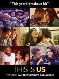 "This is Us TV Series NBC Drama Milo Ventimiglia Print Poster 13x20"" 24x36"""