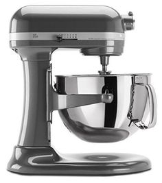 Kitchen Stand Mixer Stainless Steel Bowl Countertop Food Prep Dough Baking NEW  This Kitchen Stand Mixer is equipped with a high performance, professional level motor. It is perfect for heavy, dense mixtures. Burnished metal flat, powerknead sp...