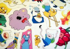 Adventure Time sticker pack  (set 2).