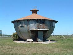 La maison-bouilloire (Galveston, USA)