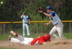 """Bacon Academy outlasts NFA, 12-11, in 10 innings - Hayden Couture has been a part of a couple of 10-inning baseball games for Bacon Academy, but Tuesday's matchup with Norwich Free Academy """"felt like the longest."""" Read more: http://www.norwichbulletin.com/article/20140513/SPORTS/140519760/2000/NEWS #CT #Sports #HighSchool #Baseball"""