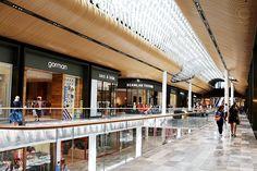 Shopping in Melbourne - Eastland Melbourne Shopping, Melbourne Travel, Shopping Mall Interior, Retail Interior, Mall Design, Retail Design, Shoping Mall, Diy Fireplace, Tv Decor