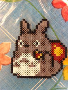 Totoro - hama beads