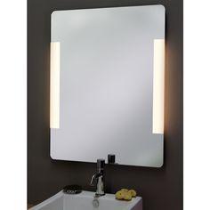 Great Badspiegel Luna mit Beleuchtung
