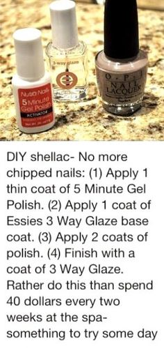 Shellac your nails at home Essie, Trendy Nails, Cute Nails, No Chip Nails, Ideas Geniales, Hair Skin Nails, Tips & Tricks, All Things Beauty, Nail Tips