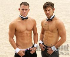 Alex Pettyfer and Channing Tatum in Magic Mike