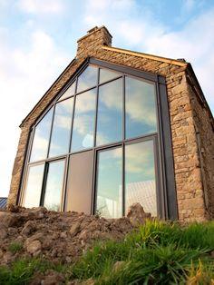 39 meilleures images du tableau toit ou plancher ouvert arquitetura bay windows et doors - Fenetre baie window ...