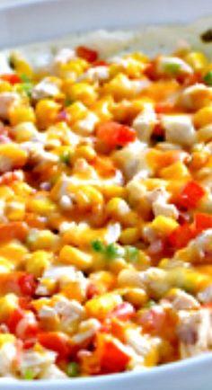 Southwestern Creamy Jalapeño-Chicken Dip Recipe ~ Creamy and Cheesy