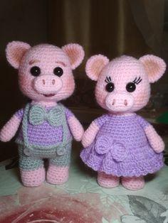 40 Cute Animal and Cartoon Character Amigurumi Crochet Patterns For Your Baby Part amigurumi crochet patterns; Crochet Pig, Crochet Bunny Pattern, Crochet Gifts, Cute Crochet, Crochet Animals, Crochet Dolls, Crochet Patterns, Super Cute Animals, Stuffed Animal Patterns