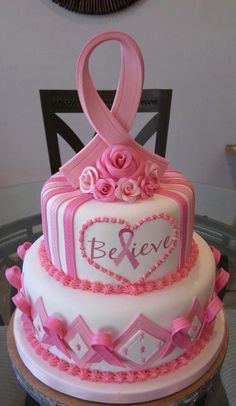 #Cancer cake to help those believe.