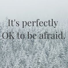 It's perfectly OK to be afraid. The key is identifying what we're *really* afraid of (fear is sneaky!) so that we can work with it and move forward. Fear Of Love, Move Forward, You Really, Mental Health, Depression, Anxiety, Healing, Key, Afraid Of Love