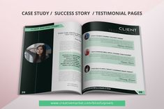 eCourse Workbook Template for Canva by Blissful Pixels on @creativemarket Editorial Page, Working On It, Web Browser, Cover Pages, Photography Props, Creative Photography, Case Study, How To Apply, Lettering