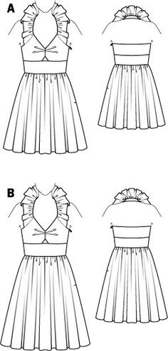 Burdastyle online pattern, looks pretty. My only concern is the instructions, usually they're quite awful.