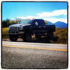Check out www.DieselTruckGallery.com for tons of diesel truck pictures Big black