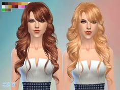 skysims female hair  Found in TSR Category 'Sims 4 Female Hairstyles'