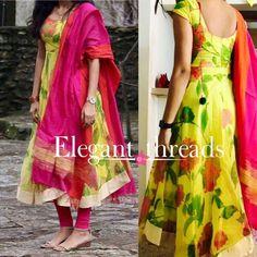 Salwar Designs, Kurti Neck Designs, Kurta Designs Women, Kurti Designs Party Wear, Long Dress Design, Dress Neck Designs, Blouse Designs, Kalamkari Dresses, Ikkat Dresses