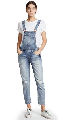 Blank Denim Get It Together Overalls Diy Outfits, Hip Hop Outfits, Grunge Outfits, 90s Fashion Grunge, Style Outfits, Outfits For Teens, Casual Outfits, Fashion Models, Fashion Guys