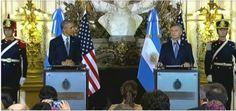 Presidente Obama pide a Argentina y America Latina romper con la desconfianza del pasado