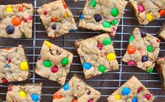 M&M Cookie Bars...these are so good!!