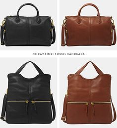 Friday Find: Fossil Handbags
