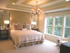 Cornerstone model master bedroom from Victory Lakes in Bristow, VA