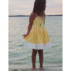 Can't wait to wear this! Pretty Little Dress, Little Dresses, Nice Dresses, Summer Dresses, Well Dressed Wolf, Little Diva, Little Fashionista, Our Girl, Floral Fabric