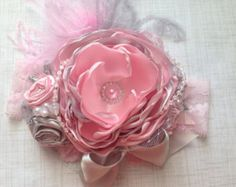 Butterfly kisses over the top headband couture by ChloeRoseCouture
