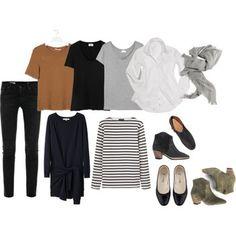 当然、数少ない服をどう組み合わせるか着こなしに頭を使うようになり、何通りものスタイリングを考えられるようになります。